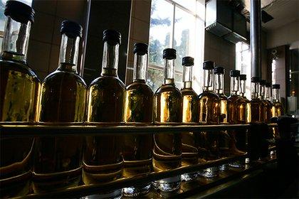 Производство вина в Российской Федерации снизилось додесятилетнего минимума