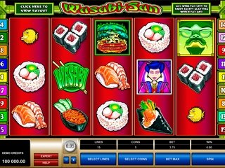 игровой автомат Васаби-Сан